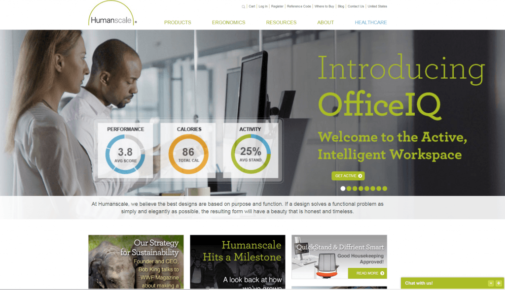 Humanscale: Helping to support a decade of profitable expansion