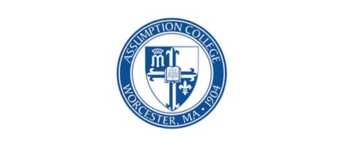 Assumption College higher education logo