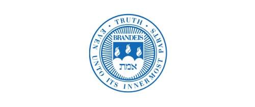 Brandeis University higher ed logo