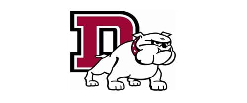 Dean College higher ed web site logo