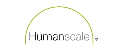 Humanscale furniture catalog logo