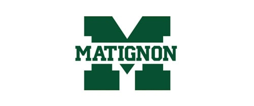 Matignon High School Cambridge logo