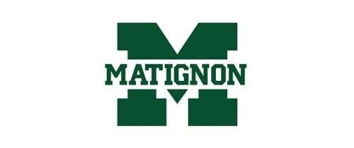 Matignon High School Cambridge logo